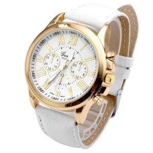 New Women's quartz Clock Geneva Watch